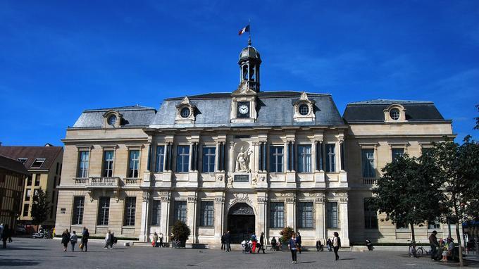 Le parvis de l'hôtel de ville de Troyes accueillera les participants.