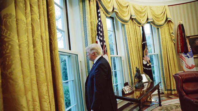 Pendant les deux dernières années, Trump s'est battu contre l'opposition démocrate et sa propre majorité parfois indocile.