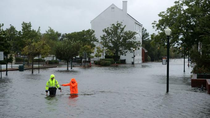 Ouragan Florence: plusieurs morts relevés en Caroline du Nord