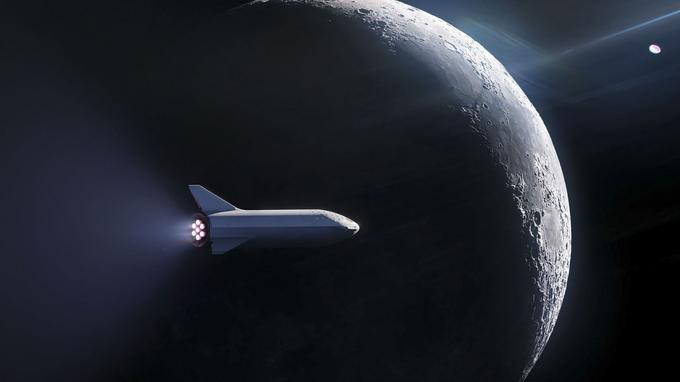 BFR doit emporter ses premiers passagers pour un aller-retour autour de la Lune.