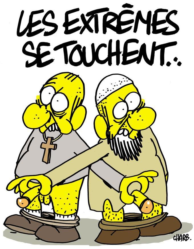 Dessin de Charb réalisé en 2011
