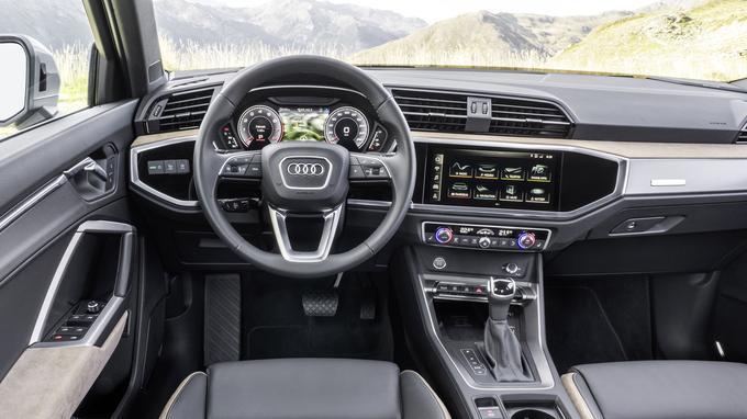 L'habitacle plus cossu se plie à la dernière interface homme/machine développée par Audi.