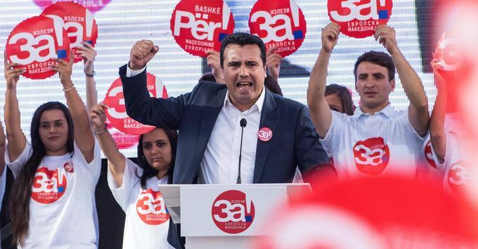 L'arrivée du social-démocrate Zoran Zaev au pouvoir, le 31 mai 2017, a permis le redémarrage de discussion autour d'un accord avec Athènes sur un changement de nom.