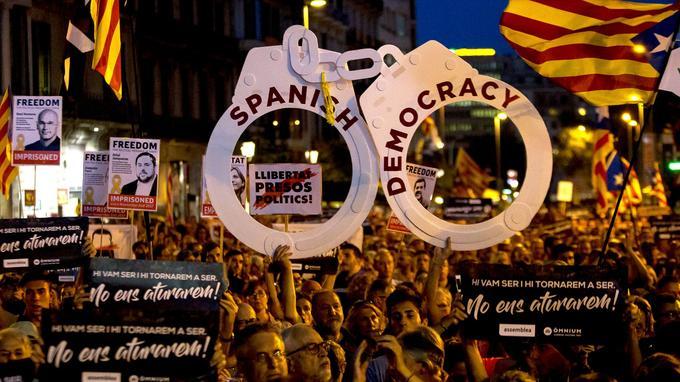 Le 11 septembre dernier, près d'un million de manifestants étaient dans les rues de Barcelone.