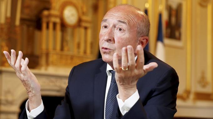 «Je ne veux pas que des échéances locales puissent venir troubler la vie politique nationale», explique Gérard Collomb.