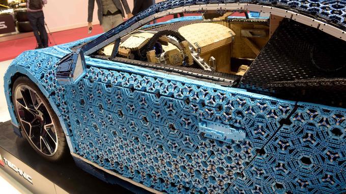 Plus d'un million de Lego reproduisent la Bugatti Chiron Lego. <br/><br/><br/><br/><br/>