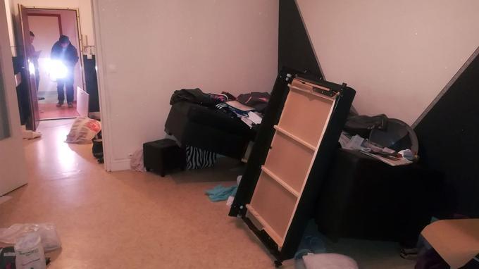 L'appartement où a été arrêté Faïd à Creil.