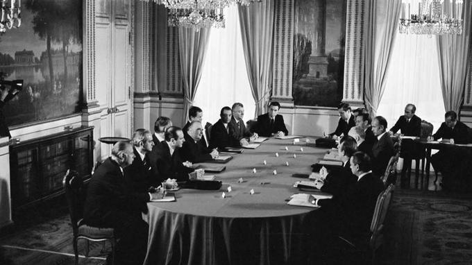 Le gouvernement Messmer III, du 27 février au 27 mai 1974.