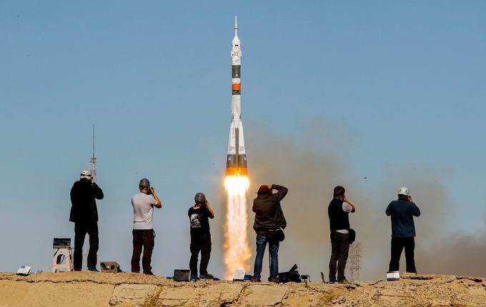 La fusée Soyouz avait décollé sans encombre dans un premier temps avant de connaître une défaillance deux minutes plus tard.
