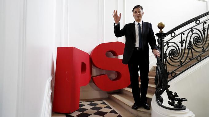 Olivier Faure aura été le dernier premier secrétaire du PS à diriger le parti depuis Solférino. <br/>