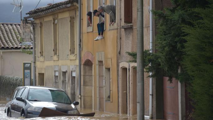 Six personnes sont mortes dans l'Aude à cause des inondations