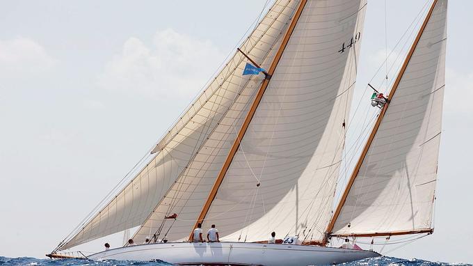 Le voilier Ellean restauré par Paneral.
