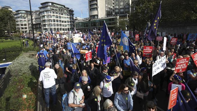 C'est l'une des plus vastes manifestations dans la capitale britannique depuis celles contre la guerre en Irak il y a quinze ans.