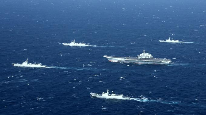 La marine chinoise connaît un développement exponentiel.