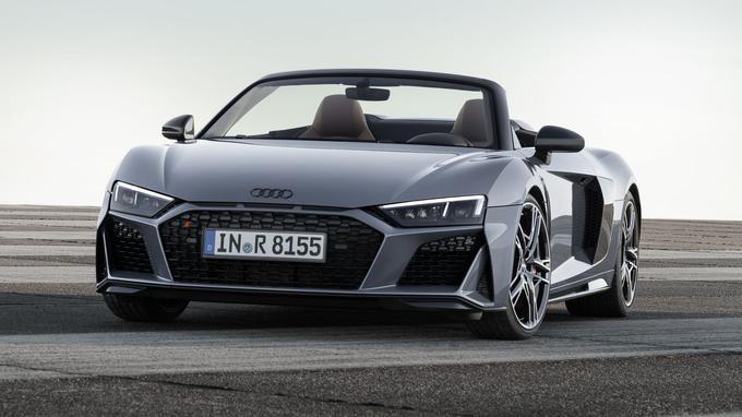 La carrosserie plus agressive évoque les dernières Audi.
