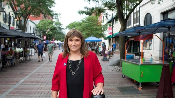 Christine Hallquist a reçu des menaces de mort pendant sa campagne.