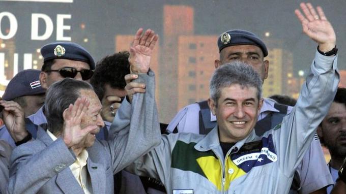 Marcos Pontes a passé une semaine dans la Station spatiale internationale en 2006.