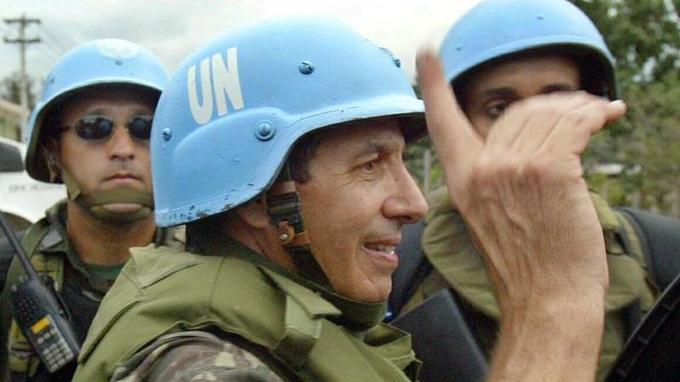 Augusto Heleno a été le premier commandant en chef de la mission des Nations unies pour la paix en Haïti.