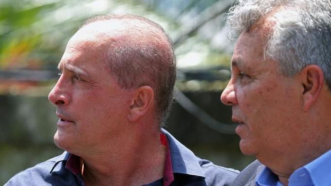 Onyx Lorenzoni, parlementaire depuis plus de 20 ans et cerveau de la campagne de Jair Bolsonaro.