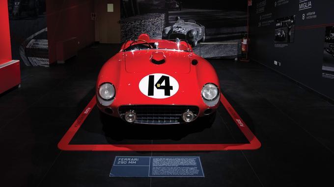 La Sport 290 MM de la vente RM Sotheby's a participé à ramener le titre mondial à Maranello en 1956.