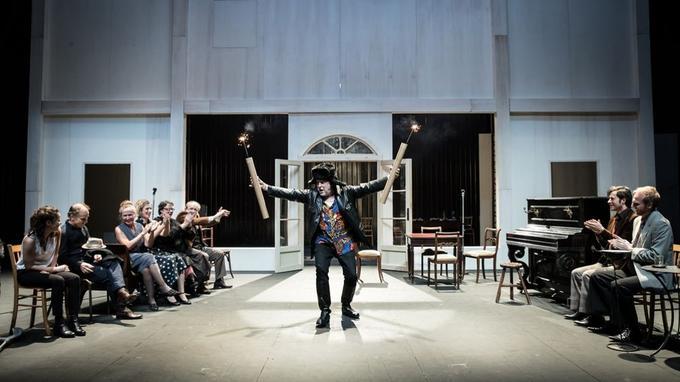 «Ivanov» au théâtre de l'Athénée.