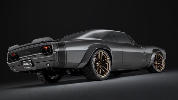 Esthétiquement, ce prototype ressemble en tout point à la Dodge Charger modifiée conduite par Vin Diesel, alias Dom Toretto, dans la série de films «Fast and Furious».