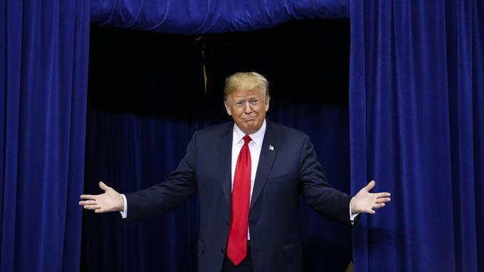 La bonne résistance des républicains lui permet d'espérer un second mandat.