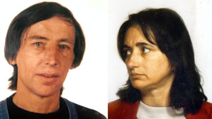 Les photos ont été prises en 1992. À gauche, Michel Fourniret a 50 ans. À droite, Monique Olivier en a 44. À cette époque, ils sont mariés, parents d'un petit garçon et ont déjà commis sept meurtres entre 1987 et 1990, si on tient compte des derniers aveux du tueur en série. Début 2018, il a reconnu le meurtre de deux autres jeunes filles.