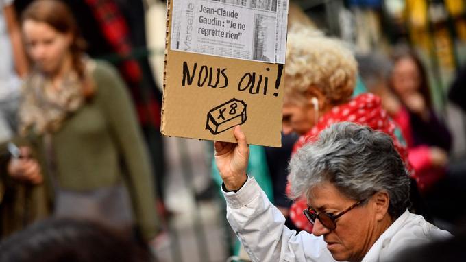Les manifestants ont exprimé leur colère contre le maire de Marseille Jean-Claude Gaudin, aux manettes de la ville depuis 23 ans.