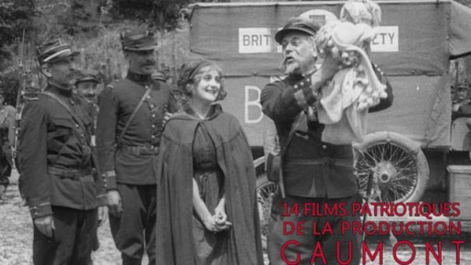 Une page de gloire, fait partie des films patriotiques produits par Gaumont pendant la «Grande Guerre».