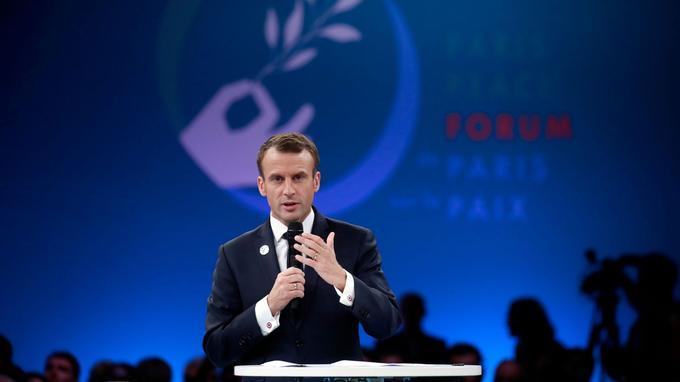 Emmanuel Macron a prononcé un discours à La Villette.