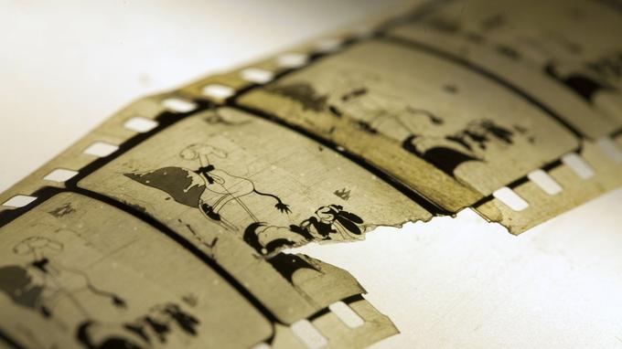 Un film des aventures de l'ancêtre de Mickey retrouvé au Japon