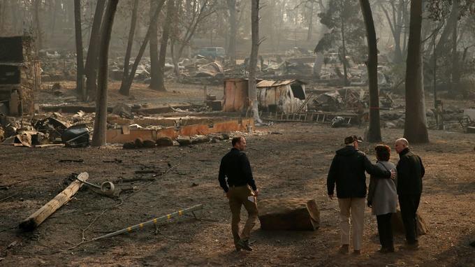 Le «Camp Fire» a ravagé près de 60.000 hectares dans le nord de la Californie.