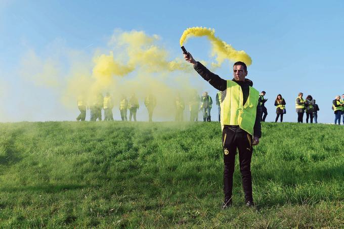 Une manifestation de «gilets jaunes» à Bordeaux.