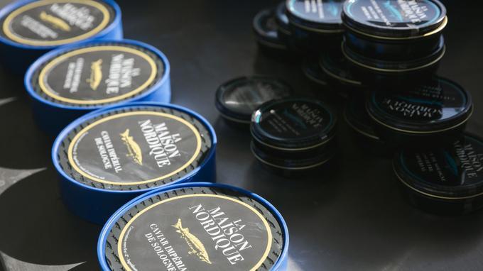 Le caviar impérial de Sologne créé par la Maison Nordique.