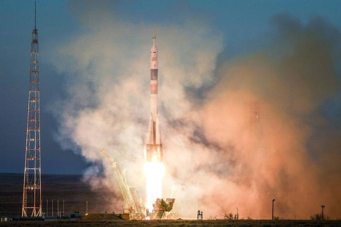 La fusée Soyouz a décollé sans encombre cette fois-ci.