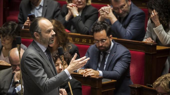 Édouard Philippe, mardi, à l'Assemblée nationale.