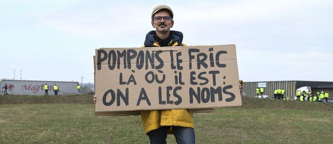 À Dole (Jura), le 17 novembre.