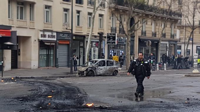 Boulevard de Courcelles dans le 17e arrondissement