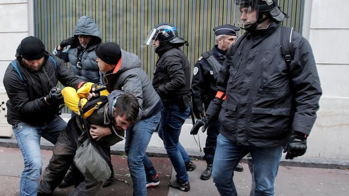 Arrestation à Lille.