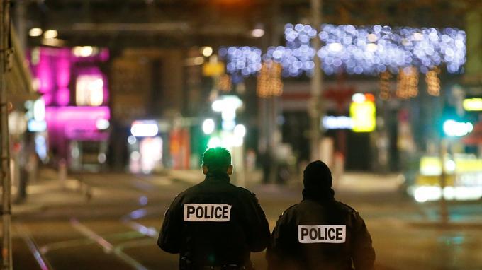 Mardi soir, peu après les premiers coups de feu, les rues de Strasbourg étaient désertes.