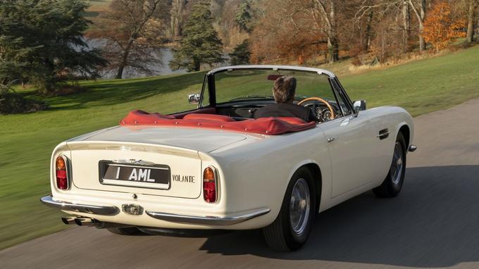 Aston Martin a peur qu'à l'avenir, les véhicules anciens soient retirés de la circulation pour des raisons de pollution.