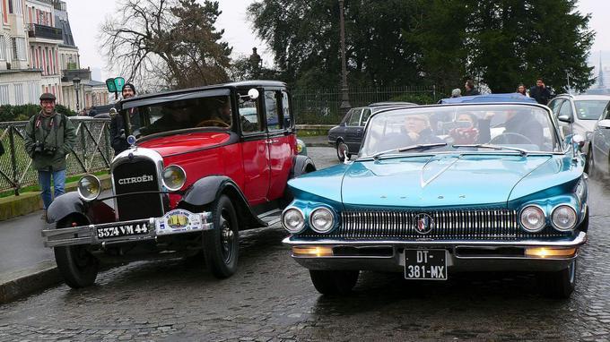 La 19 ème Traversée de Paris accueillera plus de 700 véhicules ayant dépassé les 30 ans d'ancienneté.