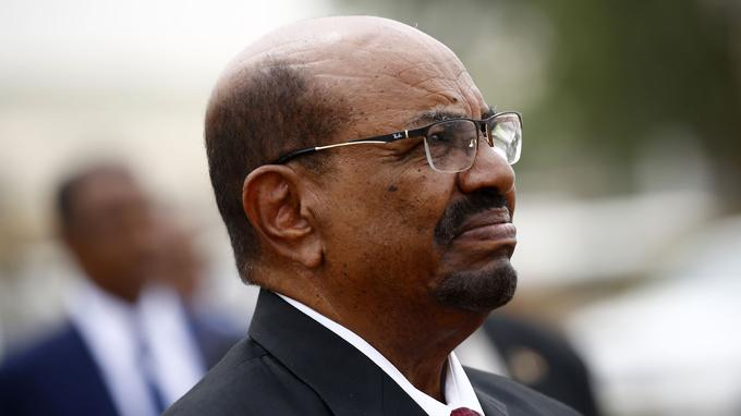 Omar el-Béchir, président du Soudan depuis 1989.
