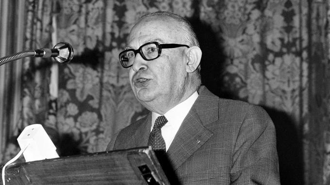 Jean Hamburger, grand spécialiste de la néphrologie.