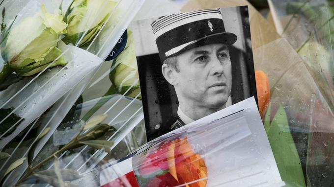 Le 23 mars, le colonel Arnaud Beltrame a échangé sa vie contre celle d'un otage avant d'être assassiné à Trèbes.