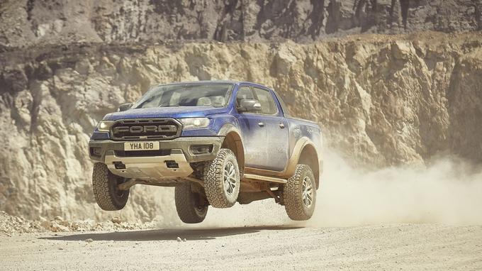 Le Ford Ranger Raptor se contentera d'un 4-cylindres 2 litres diesel biturbo de 213 ch.