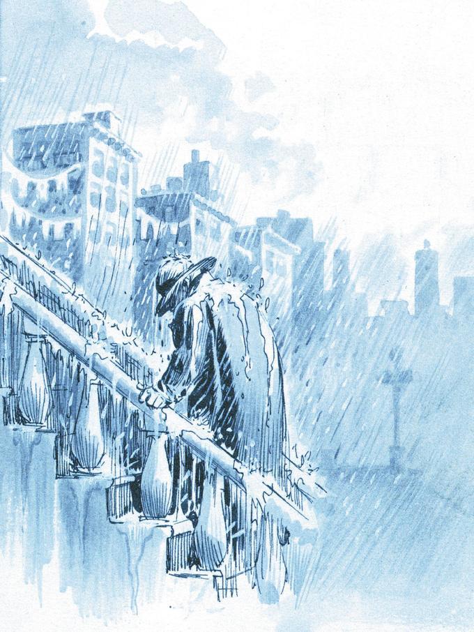 Dans «Un Pacte avec Dieu», Will Eisner explore ses thèmes de prédilection: la ville, la judéité, les ambiances sombres.