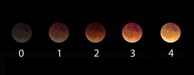 L'échelle empirique de Danjon permet de qualifier la teinte et l'éclat d'une éclipse totale de Lune.