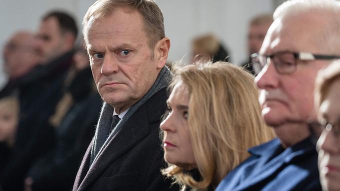 Donald Tusk samedi à Gdansk.